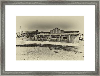 Abandoned Station Framed Print