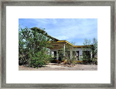 Framed Print featuring the photograph Abandoned Store by Utopia Concepts