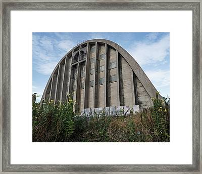 Abandoned Sugar Silo Framed Print by Robert Brook