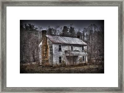 Abandoned Framed Print by Todd Hostetter