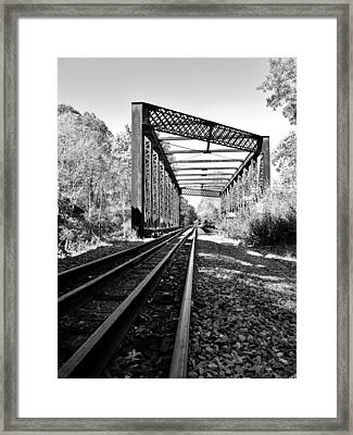 Abandoned Tracks Framed Print