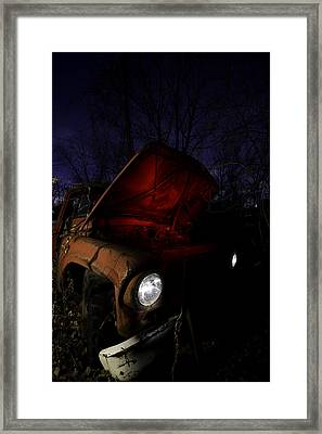 Abandoned Truck Framed Print by Cale Best