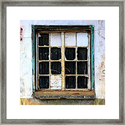 Abandoned View Framed Print