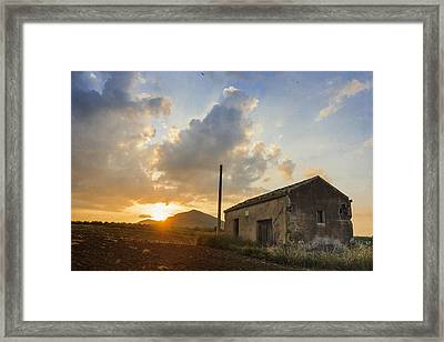 Abandoned Warehouse Framed Print