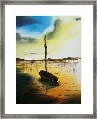 Abandoned Waters Framed Print by Rafay Zafer