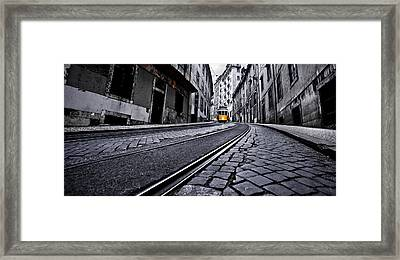 Abandoned Way Framed Print