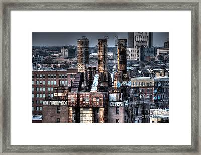 Abandoned Willow Steam Plant Framed Print