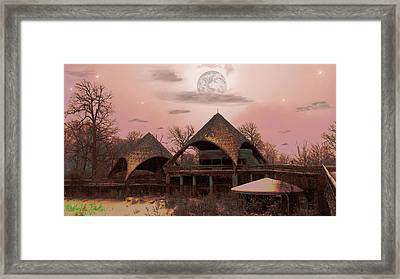 Abandoned Zoo Framed Print