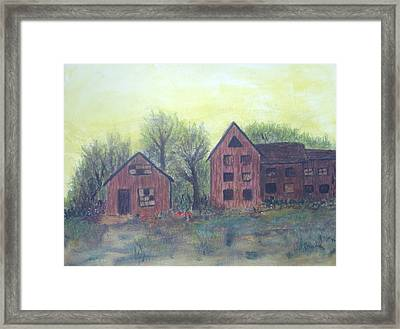 Abandoned Framed Print by Andrea Friedell