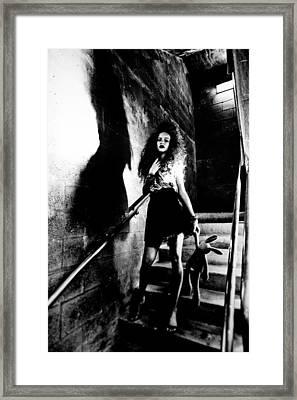 Abas Indulcet Fames Framed Print