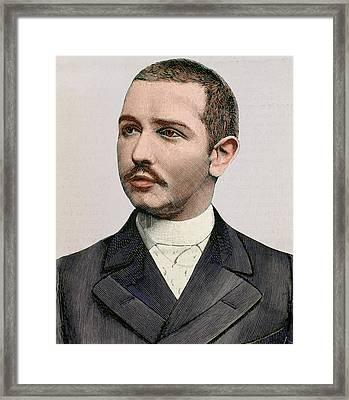 Abbas II Of Egypt (1874-1944 Framed Print by Prisma Archivo