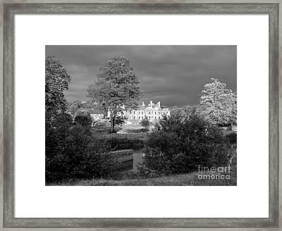 Abbaye De Bon Repos Framed Print by Carol Weitz