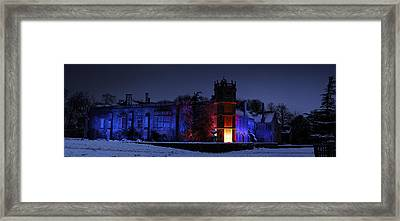 Abbey At Night Framed Print