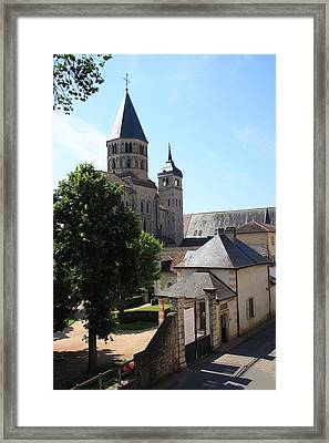 Abbey Cluny  Framed Print by Christiane Schulze Art And Photography
