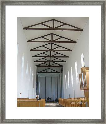 Abbey Of Our Lady Of Gethsemani Framed Print by Patricia Januszkiewicz