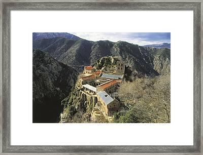 Abbey Of Sant Mart� Del Canig�. France Framed Print