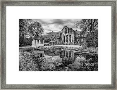 Abbey Reflections Framed Print by Adrian Evans