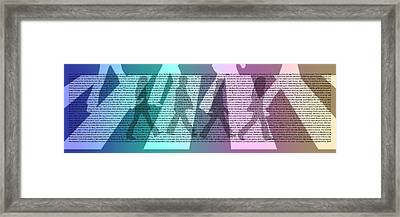 Abbey Road Difference Framed Print
