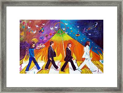 Abbey Road Framed Print by To-Tam Gerwe