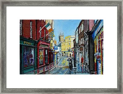 Abbey Street Ennis Co Clare Ireland Framed Print by Tomas OMaoldomhnaigh