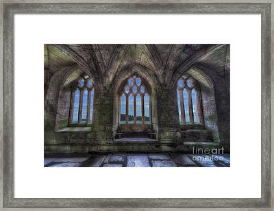 Abbey View Framed Print by Adrian Evans