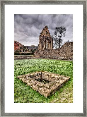 Abbey Well Framed Print by Adrian Evans
