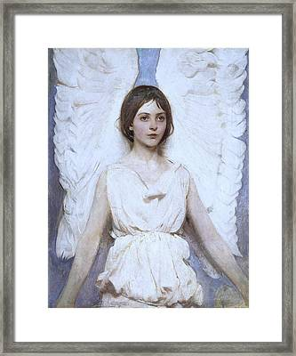 Abbott Handerson Thayer Angel 1886 Framed Print