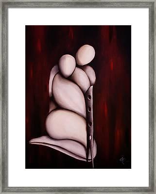 Abbraccio 2011 Framed Print by Simona  Mereu