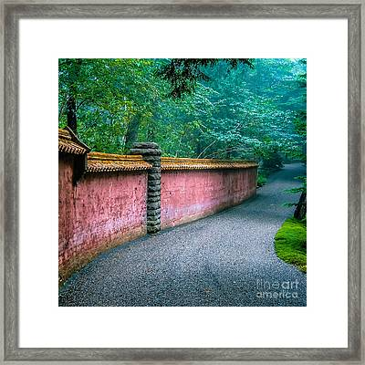 Abby Aldrich Rockefeller Garden Framed Print