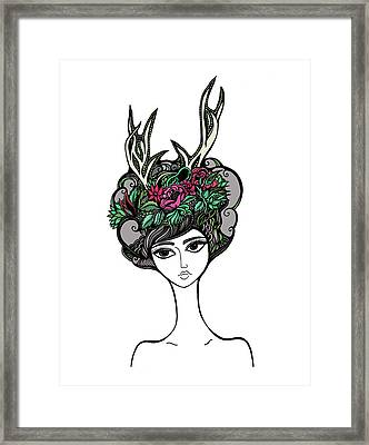 Abby Framed Print by Jody Pham