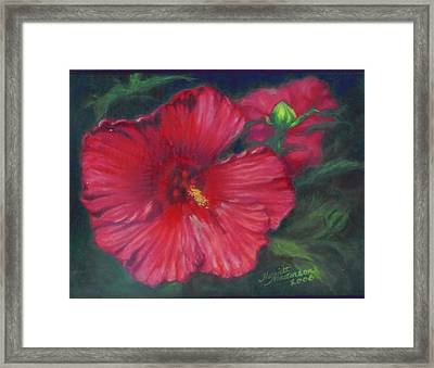 Abby Rose's Mallow Framed Print
