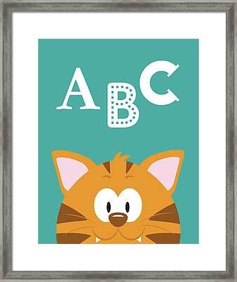 Abc Animals Framed Print