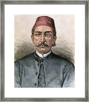 Abdul Hamid II (1842-1918 Framed Print by Prisma Archivo