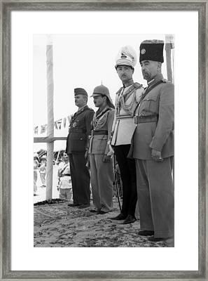 Abdullah I (1882-1951) Framed Print