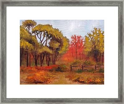 Abeel Fields Framed Print