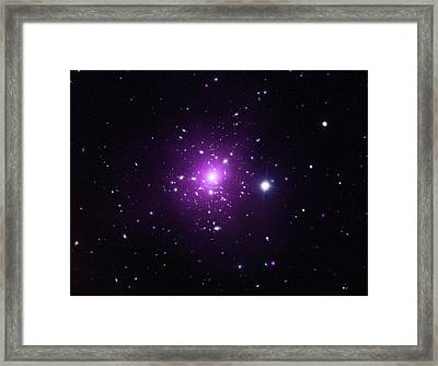 Abell 383 Galaxy Cluster Framed Print