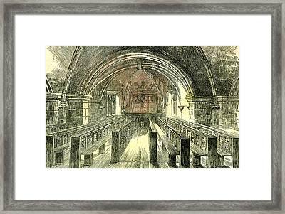Aberdeen East Church The Crypt 1885 Uk Framed Print