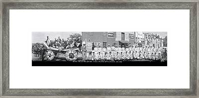 Aberdeen Fire Company At Maryland State Framed Print