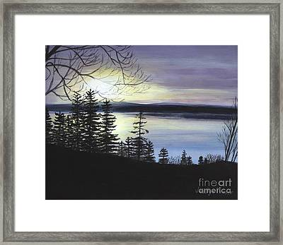 Aberdeen Sunrise Framed Print