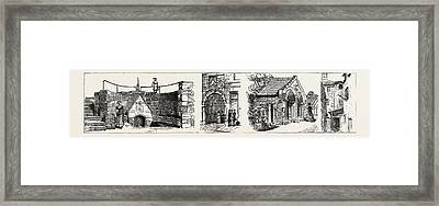 Aberdeen The Well Of Spa Left Old Gateway To Marischal Framed Print