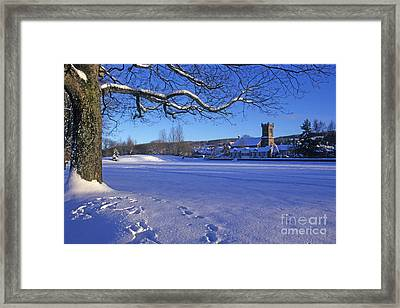 Aberlour Winter Framed Print by Phil Banks