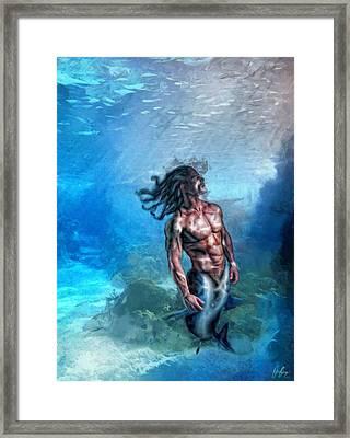 Abgal Framed Print