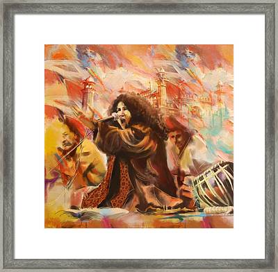 Abida Parveen Framed Print by Catf