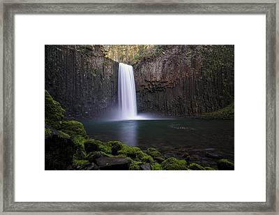 Abiqua Falls Framed Print by Brian Bonham