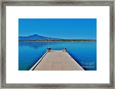 Abiquiu Lake Framed Print