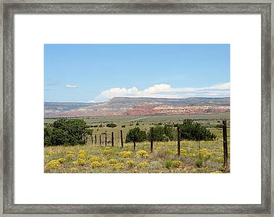 Abiquiu, New Mexico Framed Print
