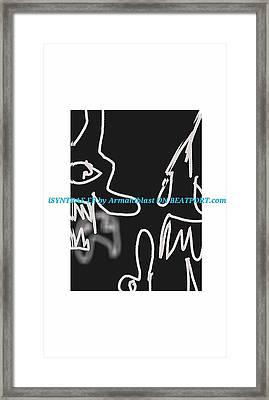 Ablaz Elektro Dz Deux Framed Print