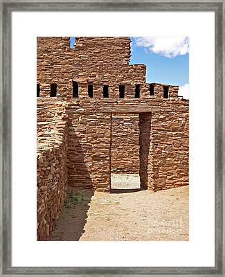 Abo Ancient Portal Framed Print
