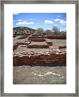 Abo Ruin 5 Framed Print