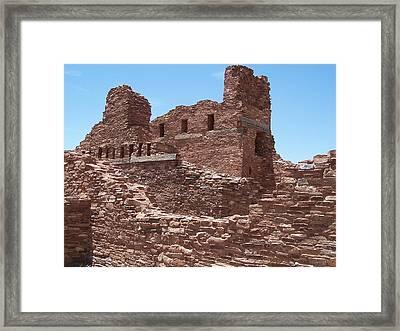 Abo Ruins 1 Framed Print by Jennifer Patterson